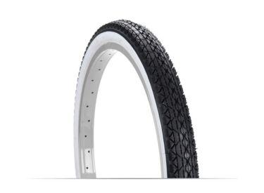 Huffy 24in x 2.125in Cruiser Bike Tire, Whitewall