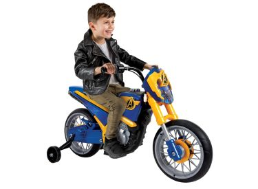 Marvel® Avengers® Motorcycle Electric Ride-On Toy, 6V