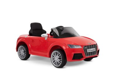 Audi TT S Roadster Battery Ride-On Car for Kids, Red, 12V