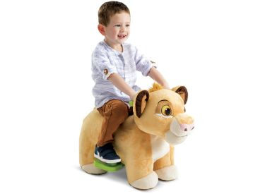 Disney Lion King Simba Plush Toddler Electric Ride-On Toy, 6V