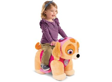 Nickelodeon™ PAW Patrol™ Skye Plush Toddler Electric Ride-On Toy, 6V