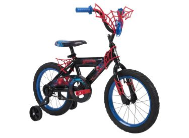 Marvel® Spider-Man® Boys' Bike, Black, 16-inch