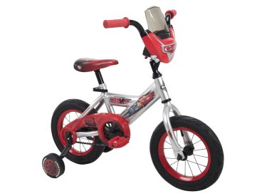 Disney·Pixar Cars Boys' Bike, Silver, 12-inch