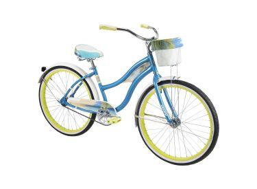 Panama Jack™ Women's Beach Cruiser Bike, Blue, 26-inch