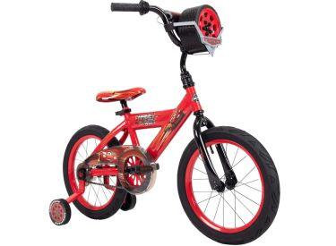 Disney·Pixar Cars Lightning McQueen EZ Build Bike, Sounds, Red, 16-inch
