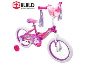 Disney Princess Girls' Bike, EZ Build™, Pink, 16-inch