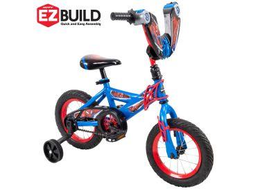 Marvel® Spider-Man® Boys' Bike, EZ Build™, Blue, 12-inch