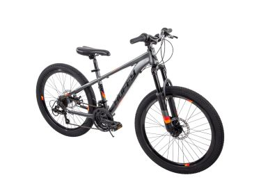Scout™ Men's Mountain Bike, Gray, 24-inch