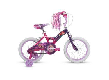 Disney Princess Girls' Bike, Purple, 16-inch