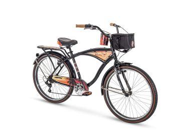 Panama Jack™ Men's Beach Cruiser Bike, Black, 26-inch