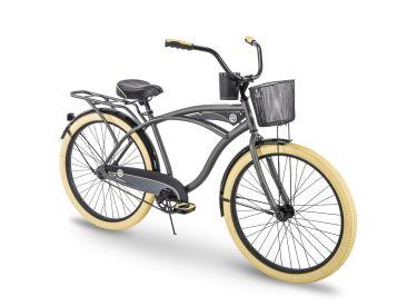 Holbrook™ Men's Cruiser Bike, Charcoal, 26-inch