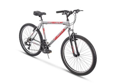 Escalate™ Men's Mountain Bike, Silver, 26-inch, 20-inch frame