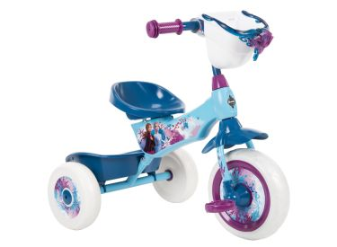 Disney Frozen 2 Kid Tricycle 3 Wheel Trike with Two Storage Bins