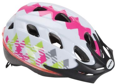 Huffy Girls' Halo Glow Bicycle Helmet