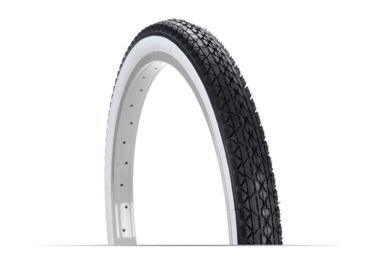 Huffy 24in x 2.125in Cruiser Bike Tire, Whitewall