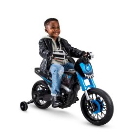 Marvel® Black Panther® Motorcycle Electric Ride-On Toy, 6V