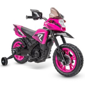 R1 Motorcycle Battery Ride-On, Pink