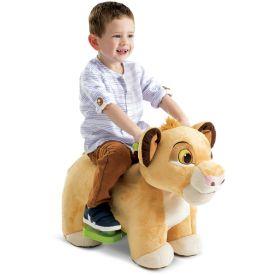 Disney Lion King Simba Plush Toddler Electric Ride-On Toy, 6V