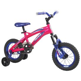 Flair™ Girls' Bike, Pink, 12-inch