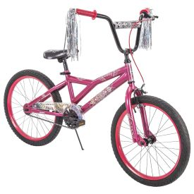 Glitzy™ Girls' Bike, Pink, 20-inch