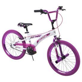Jazzmin™ Girls' BMX-Style Bike, White, 20-inch