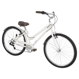 Sienna™ Women's Comfort Bike, White, 27.5-inch