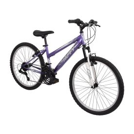 Highland™ Women's Mountain Bike, Purple, 24-inch