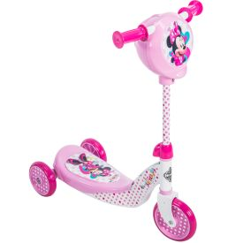 Disney Minnie Girls' Preschool Toddler Scooter, Pink
