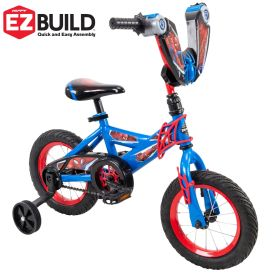Marvel® Spider-Man® Boys' Bike, EZ Build™, Blue, 12-inch