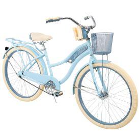 Nel Lusso™ Women's Cruiser Bike, Blue, 26-inch