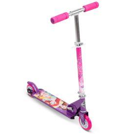 Disney Princess Kids' Folding Inline Scooter