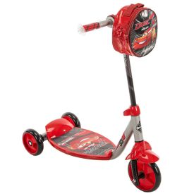 Disney·Pixar Cars 3 Boys' Preschool Toddler Scooter, Red