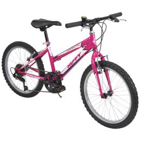 Granite™ Girls' Mountain Bike, Pink, 20-inch