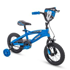 Moto X Kid Bike Quick Connect 12 inch Blue and Black