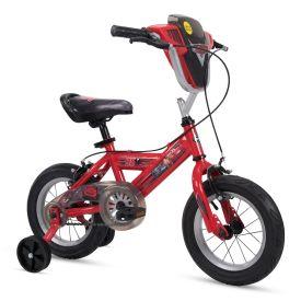Disney·Pixar Cars Boys' Bike, Shield, Red, 12-inch