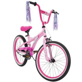 Go Girl Kid Bike Quick Assembly 20 inch Pink