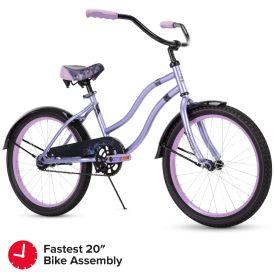 Fairmont Kid Bike Quick Assembly 20 inch Purple