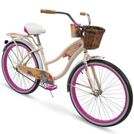 Panama Jack™ Women's Beach Cruiser Bike, Cream, 26-inch
